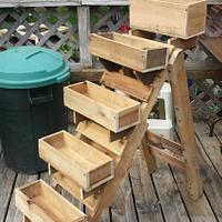 Medium pallet planter - Woodworking Project by Dragonwood