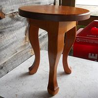 3 Legged Footstool - Woodworking Project by David A Sylvester