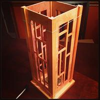 Light Box - Woodworking Project by David L. Whitehurst