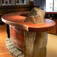 Piper's Pub Details - Woodworking Project by Glaros Studios