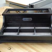 Man's Valet Box - Woodworking Project by kdc68