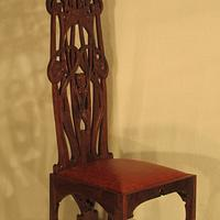Charles Rohlfs Tall Back Chair - Woodworking Project by Woodbridge