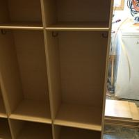 Pre-school cubbies  - Woodworking Project by Sheri Noble, woodworking at it's finest!