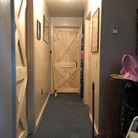 Cross Buck pine Doors  - Woodworking Project by David A Sylvester
