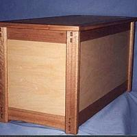 Blanket Chest - Woodworking Project by BarbS