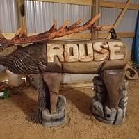 Elk name sign - Woodworking Project by Carvings by Levi