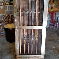redneck gun cabinet - Woodworking Project by John Caddell