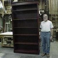 8ft tall bookshelf - Woodworking Project by a1jim