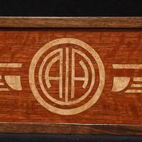 Art Deco Wine Box