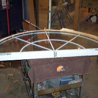 Transom window repair