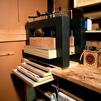 Modular Veneer Press - Woodworking Project by shipwright