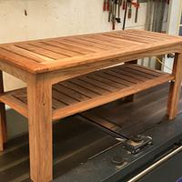 3-Season Teak Bench - Woodworking Project by MJCD