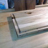 cutting board with a groove - Woodworking Project by James L Wilcox