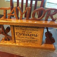 Taylor Graduation gift - Woodworking Project by TonyCan
