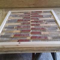 Barn wood Bed and Wall Art - Woodworking Project by Ben Buxton