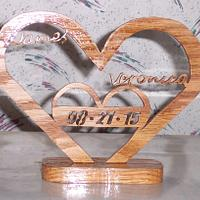 Wedding Heart  - Woodworking Project by Wheaties  -  Bruce A Wheatcroft   ( BAW Woodworking)