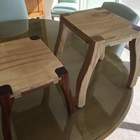 Step Stools - from Shop Scraps - Woodworking Project by MJCD