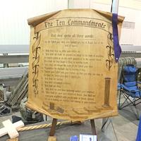 Wooden scroll - Woodworking Project by Roger Strautman