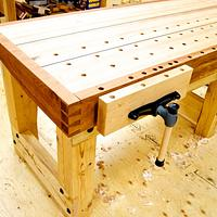 New Bench (finally!) - Woodworking Project by Manitario