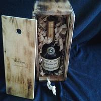 Hennessey Cognac Box - Woodworking Project by Jeff Vandenberg
