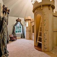 Queen Sized Castle Bunk Bed - Woodworking Project by Clark Fine Furniture
