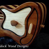 Electric Guitar Keepsake Box - Woodworking Project by Angela Maddock