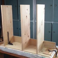 A Boarded Bookcase - Woodworking Project by 3fingerpat