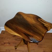 My little magnolia table. - Woodworking Project by Sean