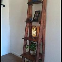 6ft ladder stand - Woodworking Project by castinandblastin83