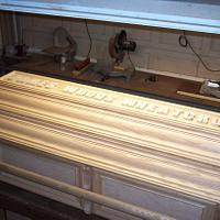 Casket Final Picture  - Woodworking Project by Wheaties  -  Bruce A Wheatcroft   ( BAW Woodworking)
