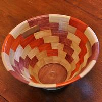 segmented bowl - Woodworking Project by Prowler98