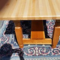Maple Butcher Block Table - Woodworking Project by David Roberts