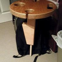 Picnic Wine table - Woodworking Project by Oblivion