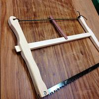 always wanted a bow saw - Woodworking Project by Narinder Jugdev