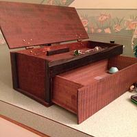 Walnut & Ebony Jewelry Box - Woodworking Project by ChurchillGuitars