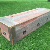 Reclaimed Barn Wood Casket - Woodworking Project by Michael Ray