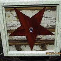 inlaid star - Woodworking Project by barnwoodcreations