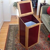 Kitchen trash/recycling bin - Woodworking Project by Jack King