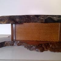 Paela Wood live edge - Woodworking Project by Boxer
