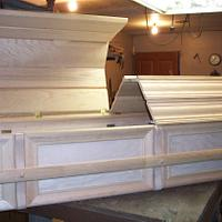 Casket - out side done ? - Woodworking Project by Wheaties  -  Bruce A Wheatcroft   ( BAW Woodworking)