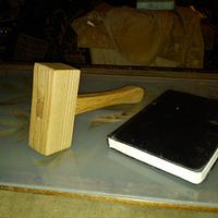 Made myself a mallet - Woodworking Project by Wolf (& Rabbit!)