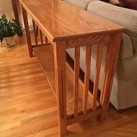 Sofa table - Woodworking Project by Jack King