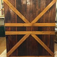 Barn door style head board - Woodworking Project by Michael Ray