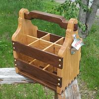 Beer Tote - Woodworking Project by Mitch Breault