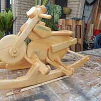 A Rocker for Buding Bikies - Woodworking Project by Francis Miles
