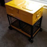 Ammo Box Milk Crate Side Table - Woodworking Project by Justin