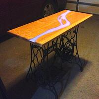 American River Table - Woodworking Project by Gator