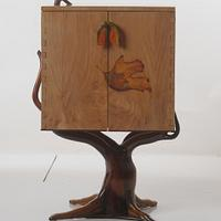 A Little Cabinetree .... Second Box on Stand - Woodworking Project by shipwright