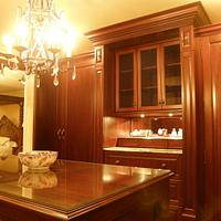 Custom Mahogany Dressing Room - Woodworking Project by Steve66