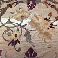 Cherry Inlay End Tables - Woodworking Project by Terry